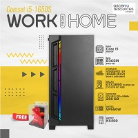 DIY COMPUTER SET (คอมพิวเตอร์ประกอบ) ASCENTI COMSET WORK FROM HOME [i5-1650S]