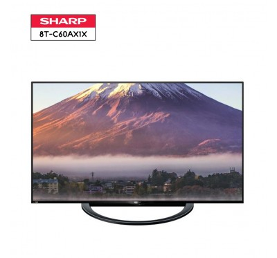 SHARP AQUOS 8K LED TV รุ่น 8T-C60AX1X ขนาด 60 นิ้ว 8K HDR LED TV 1 Y.