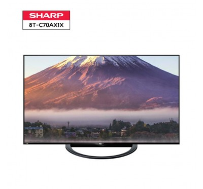 SHARP AQUOS 8K LED TV รุ่น 8T-C70AX1X ขนาด 70 นิ้ว 8K HDR LED TV 1 Y.