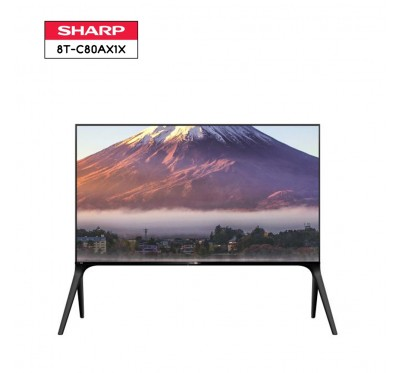 SHARP AQUOS 8K LED TV รุ่น 8T-C80AX1X ขนาด 80 นิ้ว 8K HDR LED TV 1 Y.