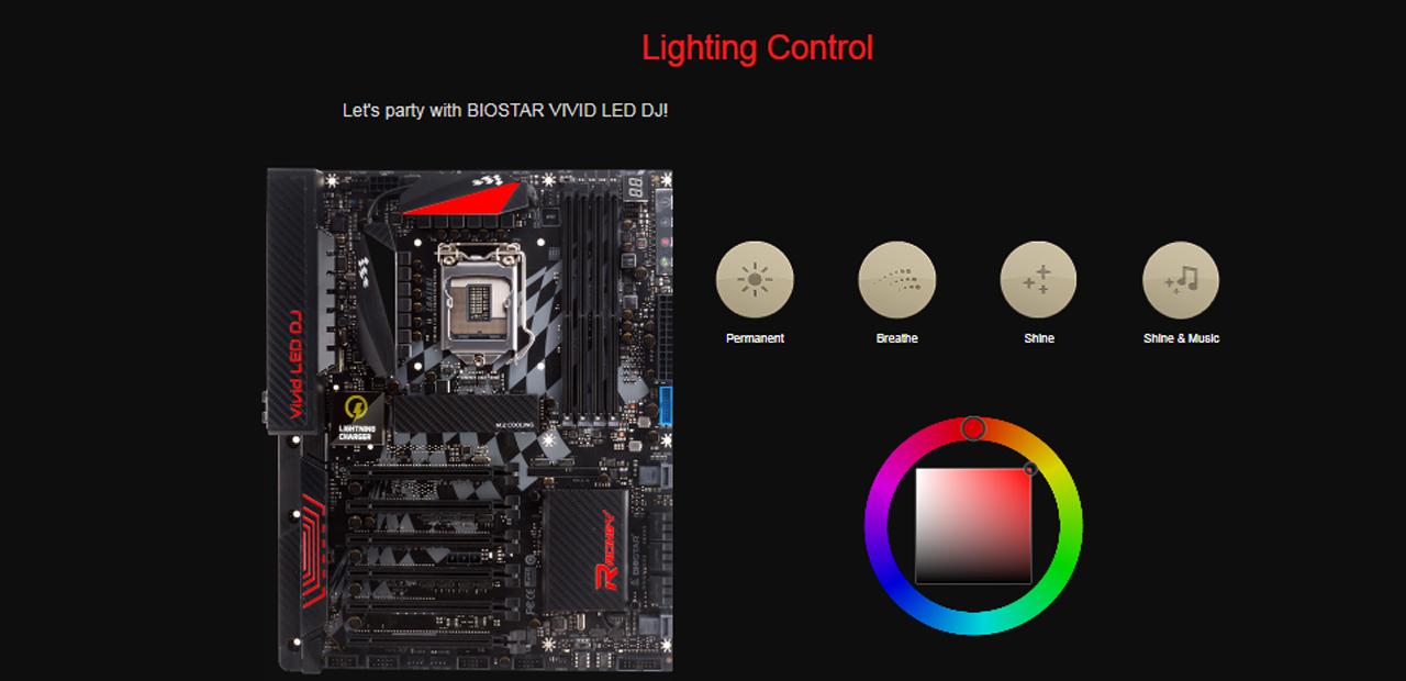 MAINBOARD (เมนบอร์ด) LGA1151 BIOSTAR RACING Z270GT8 ATX 3Y